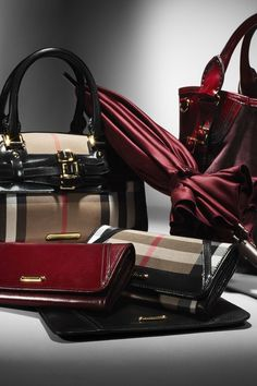 Burberry Autumn/Winter 2012 Accessories Collection - via: fashionjunkyra: - Imgend