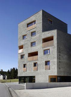 Lazzarini Architekten - Longhin Hotel, Maloja 2015