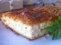 Tiropita (Greek Feta cheese Pie) - My Greek Dish