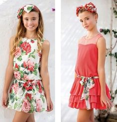 artesanía amaya, company engaged in the manufacture and design of children's clothing for girls. Teen Girl Outfits, Cute Outfits For Kids, Pretty Outfits, Cute Dresses, Flower Girl Dresses, Summer Dresses, Kids Frocks, Princess Girl, Baby Dress