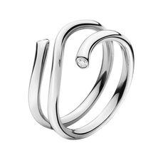 MAGIC Ring - 18 kt. Weißgold mit Brillanten