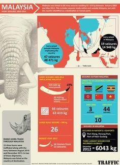 TRAFFIC - Wildlife Trade News - Malaysia key conduit in global illegal ivorytrade