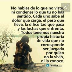 Strong Quotes, True Quotes, Words Quotes, Best Quotes, Motivational Quotes, Qoutes, Sayings, Spanish Inspirational Quotes, Spanish Quotes