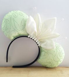 Tiana Minnie Ears Princess and the Frog Mouse by HappilyEarAfter