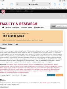 The Blonde Salad, User Guide, In Boston, Harvard, Tourism, University, The Unit, Platform, Turismo