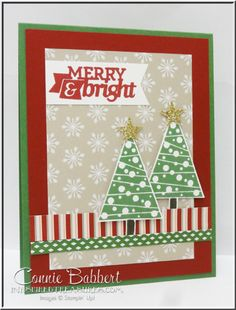 It's Day 6 of PREVIEW WEEK over on Create with Connie and Mary! We're getting ready to launch the Holiday Collection 2014 starting Sunday. Festival of Trees, Under the Tree DSP, Stampin' Up!, #stampinup, Connie Babbert, www.inkspiredtreasures.com