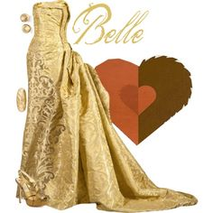 """""""Belle"""" formal gown by alyssa-eatinger on Polyvore - Beauty and the Beast"""