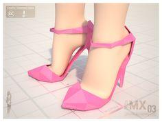 MX0003 Reload - High-heel 120mm by jihemx.deviantart.com on @deviantART