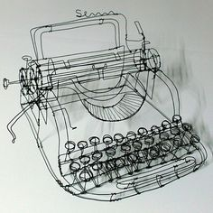 typewriter...this would be so cool framed in your house @Kelsey Allen