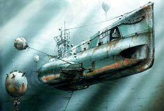 Tras torpedear a un mercante en el Cuerno de Oro, el submarino E11 se retiraba cuando enganchó una mina, después de varios espeluznantes minutos consiguió zafarse y escapar. Más en www.elgrancapitan.org/foro