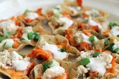 *Riches to Rags* by Dori: Buffalo Chicken Nacho Scoops