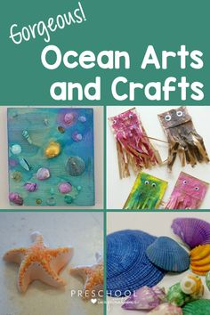 Summertime means all things OCEAN! Enjoy these arts and crafts with your kids after a trip to the beach, or if you're just dreaming of the seaside. Guaranteed to bring the tropics to you!