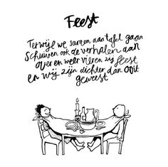 Vriendschap is een feestje Words Quotes, Me Quotes, Funny Quotes, Sayings, Amsterdam Quotes, Dutch Words, Poetic Words, Word Sentences, Dutch Quotes