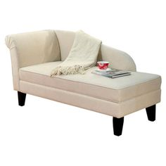 I've always wanted a chaise; this one has storage too!  $220.95