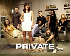 Private Practice is the spin-off from Grey's Anatomy which has gained success in its own right. Description from ivyprosper.wordpress.com. I searched for this on bing.com/images