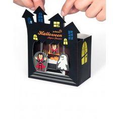 Teatro de papel, Halloween Pukaca http://pekaypeke.com/es/marionetas/113-teatro-de-papel-halloween.html