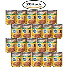 Pack of 20 - PEDIGREE Chunky Ground Dinner With Turkey & Bacon Canned Dog Food Ounces You could find more details by visiting the image link. (This is an affiliate link and I receive a commission for the sales) Canned Dog Food, Wet Dog Food, Turkey Bacon, Dog Food Recipes, Meals, Canning, Dinner, Dogs, Image Link