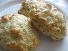Cheddar-parmesan scones with dill