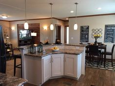 Kitchens on pinterest skyline homes modular homes and for Prefab guest house with bathroom and kitchen