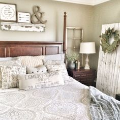 Rustic bedroom decor