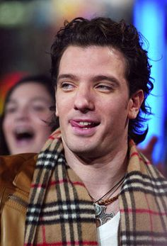 THIS tongue thing made you blackout from happiness. | For All The '90s Girls Who Were Team JC Chasez