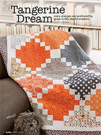 Tangerine Dream Digital Pattern from ShopFonsandPorter.com