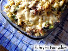 Fabryka Pomysłów: Zapiekanka makaronowa z tuńczykiem i brokułami Macaroni And Cheese, Fit, Ethnic Recipes, Blog, Shape, Mac And Cheese, Blogging