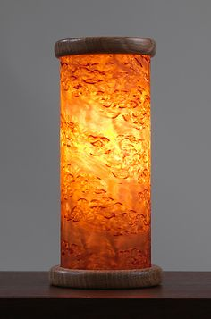 Dryad Night Light In Karelian By Jesse Shaw: Wood Table Lamp Available At  Www.