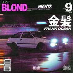 Frank Ocean - Blond (Vintage Japanese Covers) - - Post with 10498 views. Graphic Design Posters, Graphic Design Typography, Graphic Design Illustration, Graphic Design Inspiration, Illustration Art, Typography Layout, Design Illustrations, Vintage Illustrations, Typography Poster