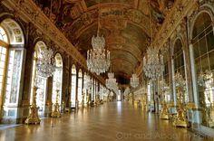 ala de los Espejos, Versalles, Francia