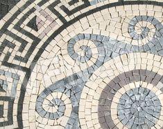 Roman Mosaic Patterns   Beautiful Scenery Photography