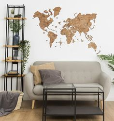 🔥 SALE OFF 🔥 + Free international shipping+ Ocean names as a gift+ delivery guarantee**we make a full refund in case of force majeureThe Wooden World Map is protected by International Patent and Copyright Properties. By copying th. Wood Panel Walls, Panel Wall Art, Hanging Wall Art, Wood Wall Art, Rustic Walls, Rustic Wall Decor, Home Symbol, Modern Centerpieces, Focal Points
