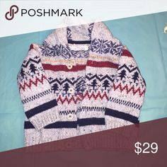 CARDIGAN BOY MULTI COLORED CARDIGAN WORN ONCE WILL SHIP OUT SATURDAY H&M Shirts & Tops Sweaters