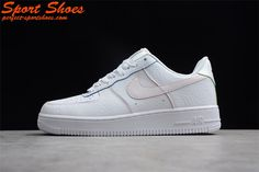 innovative design 313d9 47b6a New Men s Nike Air Force 1 Low White Light Pink AQ4139-100