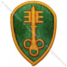 Army Patch: 300th Military Police Brigade - color
