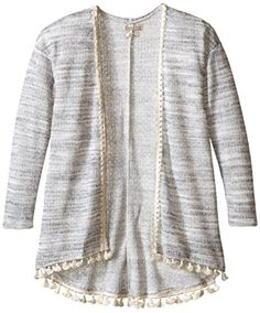 Lucky Brand Girls' Hermosa Sweater ** You can get more details at… Pullover Sweaters, Sweater Cardigan, Disney Tees, Discount Nikes, Difficult People, Band Shirts, Girls Sweaters, Lucky Brand, Hoodies
