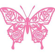 Silhouette Design Store - New Designs Butterfly Quilt, Butterfly Pattern, Butterfly Art, Butterfly Design, Butterflies, Stencil Stickers, Stencils, Decals, Cardboard Crafts