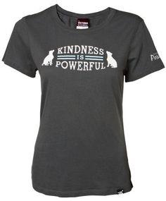 "Victoria Stillwell ""Kindness is Powerful"" Women's Tee, $26.00"