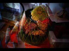 Gourd art Cabaça Oval (Não disponível - Coleção Particular)
