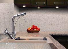59 best diy backsplash kit images on pinterest kitchen countertops mineral tiles diy network tile backsplash kit 15ft toasted almond 11900 http solutioingenieria Image collections