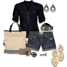 27952d5cc3e 24 Great Outfit Ideas with Shorts