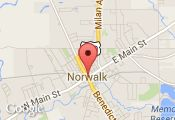 Map Dale R Terpening, Specialist  - Norwalk, Ohio