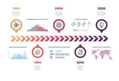Timeline vector infographic template. Graphic Design Infographics. $5.00