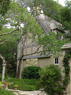 """North side of """"Honeymoon"""" Cottage, Carmel-by-the-Sea, California"""