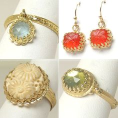 Jewelry by designer Becky Kelso, my favorite!