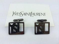 Yves Saint Laurent YSL DECO Design Cufflinks Yves Saint Laurent YSL Cufflinks,http://www.amazon.com/dp/B00JI6TUEE/ref=cm_sw_r_pi_dp_sAOttb097DRQGQT5