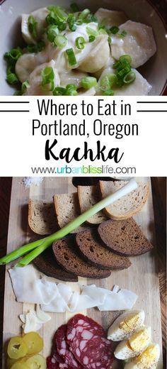Kachka restaurant in Portland, Oregon offers Eastern European cuisine/dishes from the former Soviet Union. Their happy hour menu gives you a great taste of Russian zakuski and an extensive list of vodkas! Learn more and see mouthwatering food photos at UrbanBlissLife.com.