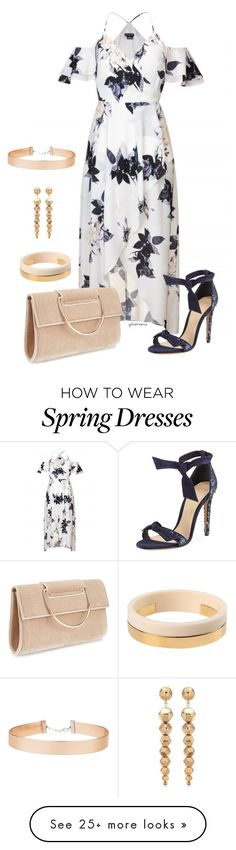 """Spring flowers- plus size"" by gchamama on Polyvore featuring Miss Selfridge, Alexandre Birman, Oscar de la Renta and Marni"