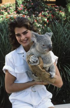 Brooke Shields, 1983.