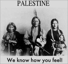 パレスチナ人よ、 私たちはあなた方がどう感じているかわかる。